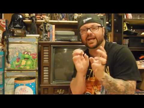 My Retro 80's Toy Room Tour part 6.  The Console TV!!