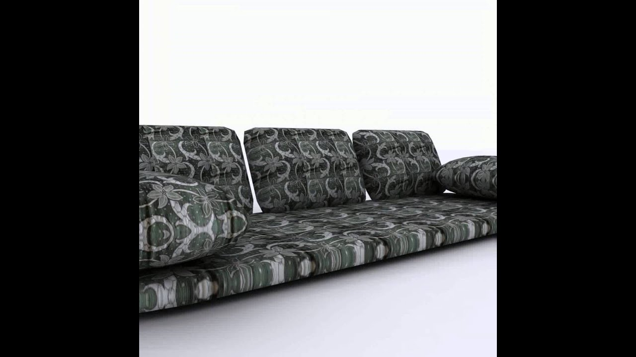 Arabian Floor Sofa 3D Model From CGTrader.com   YouTube