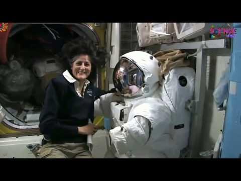 अंतरिक्ष मे अंतरिक्ष यात्री कैसे रहते हैं || Daily Life in space || Sunita Williams || zero gravity