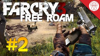 Far Cry 3 Free Roam #2 - I Can Fly! (Far Cry 4 Hype)