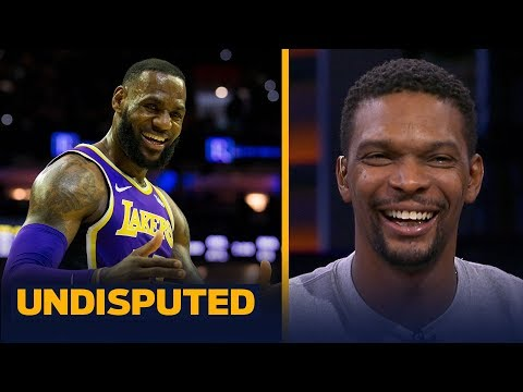 Chris Bosh talks playing with LeBron, Lakers' playoff hopes & Heat championships | NBA | UNDISPUTED