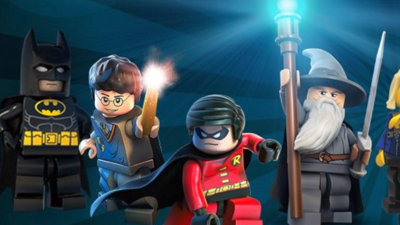 Top 10 des MEILLEURS Jeux Vidéo Lego !