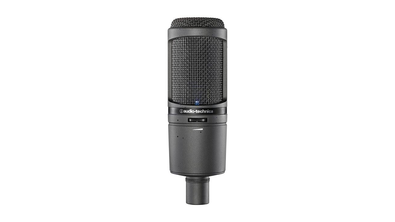 audio technica at2020usbi condenser mic review by sweetwater youtube. Black Bedroom Furniture Sets. Home Design Ideas
