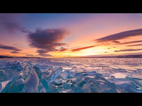 Winter, Relaxing Music With Beautiful Nature, Soothing Music