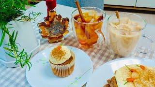 [On the table:3화] 당근케이크와 루이보스밀크티 (Carrot cake and red milk tea)l 휴게이소ㅣ게이커플