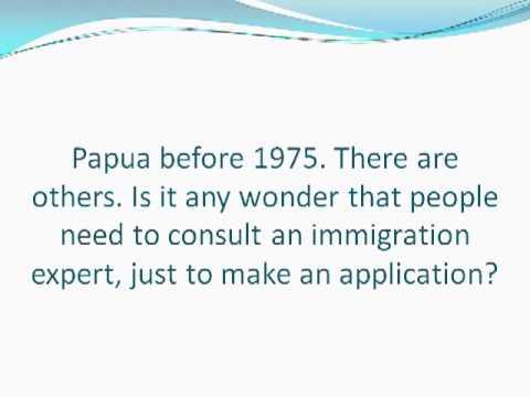 Becoming an Australian Citizen -- a Brief Summary