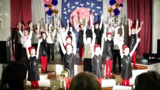 Битва хоров 2015 Лангепас школа 5 4Б класс