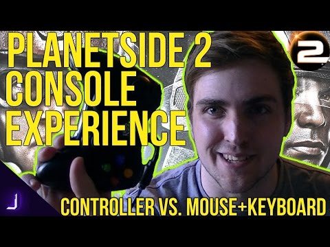 Planetside 2 Console Experience (On PC) ► Xbox 360 Controller Versus keyboard & Mouse