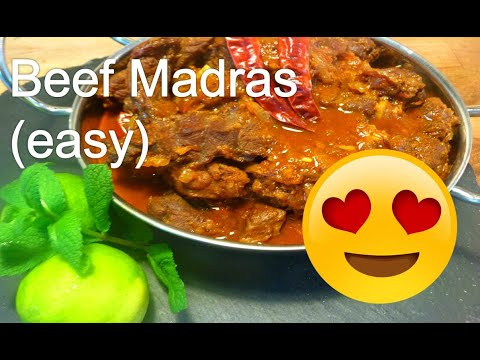 How To Make Beef Madras (Easy)