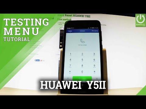 Codes HUAWEI Y5II - HardReset info