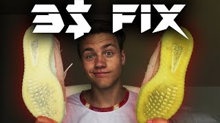 How To Clean Yellowing Yeezy Soles