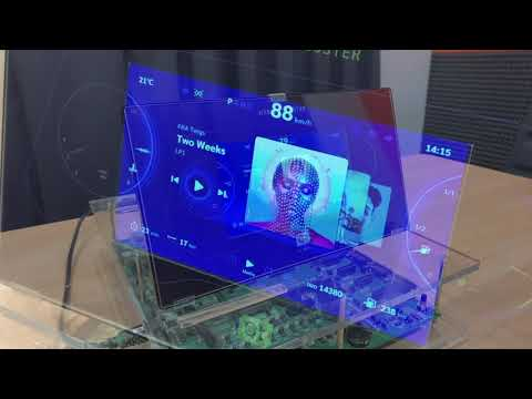 Qt for MCUs: Hybrid Instrument Cluster on a Renesas RH850-D1M1A Microcontroller {showcase}