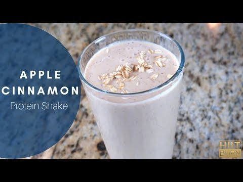 Apple Cinnamon Protein Shake
