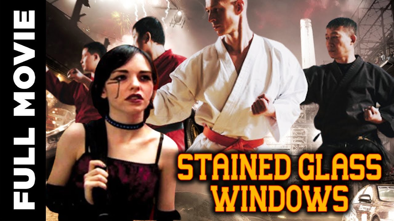 Stained Glass Windows    Hollywood Thriller Drama Movie    Christopher Atkins, Becky Baker