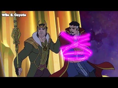 Loki vs Doctor Strange ♦ Los Vengadores Unidos T04E25 ♦ Español Latino