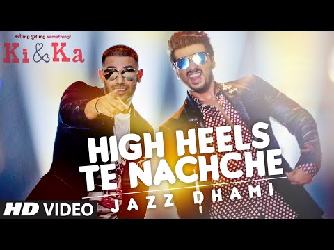 HIGH HEELS TE NACHCHE Video Song | KI & KA | Meet Bros ft. Jaz Dhami | Yo Yo Honey Singh | T-Series