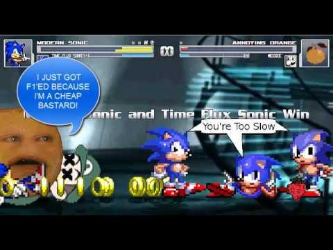 MUGEN- Sonic Survival