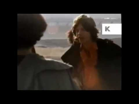 Landing at Altamont with Mick Jagger