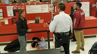 Homeless Shoplifter DTLA Target