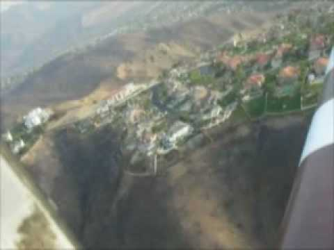 Flying Over Burned Lands