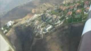 Flying Over Burned Lands