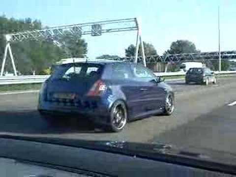 My Fiat Stilo Abarth The Freeway Youtube