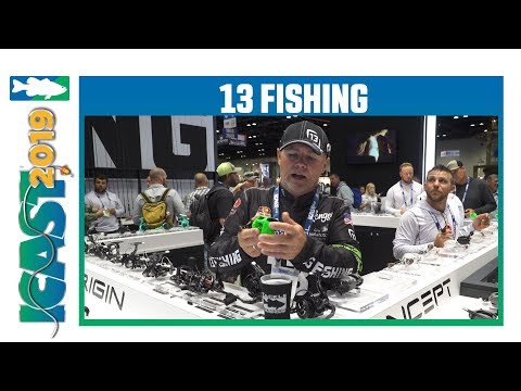 13 Fishing Inception Sport Z Casting Reel With Dave Lefebre | ICast 2019