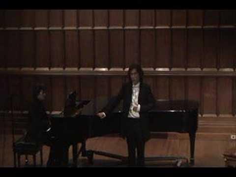 Adelaide by Bethoven - Tenor Shinju Kang