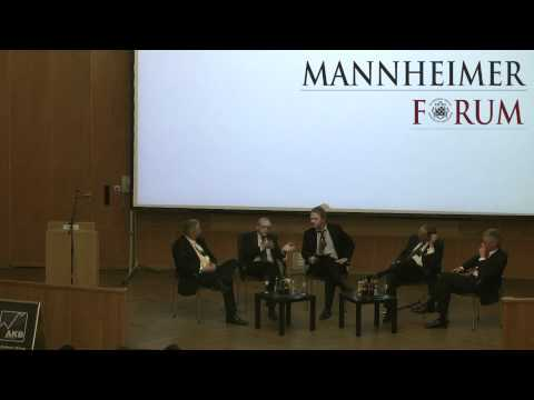 Mannheimer Forum: Die EU in der Krise - Quo Vadis?