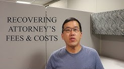 Recovering Attorney's Fees and Costs in CA - The Law Offices of Andy I. Chen