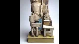 Christy Keeney - Ceramic-Sculpture (Music by Offenbach)
