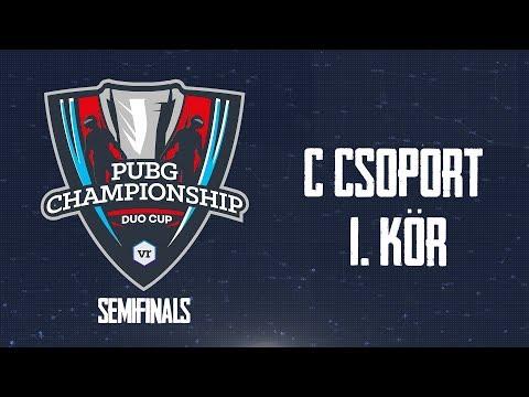 C csoport - 1. kör | TheVR PUBG Championship - DUO Cup | ELŐDÖNTŐ - 12.09.