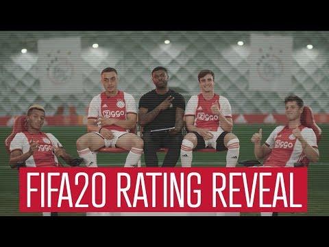 EA Sports FIFA20 Ratings Reveal: Ajax Edition