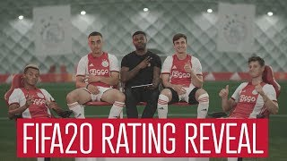 EA Sports FIFA20 Ratings Reveal: Ajax edition
