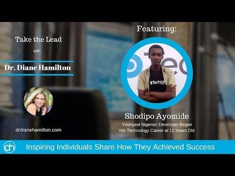 Dr Diane Hamilton Interviews Shodipo Ayomide