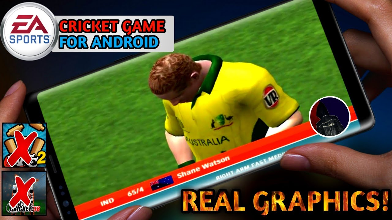🔥Omg! Download Real Graphics Ea Sports Cricket Game For Android✌Ea Sports  2000 Android - YouTube