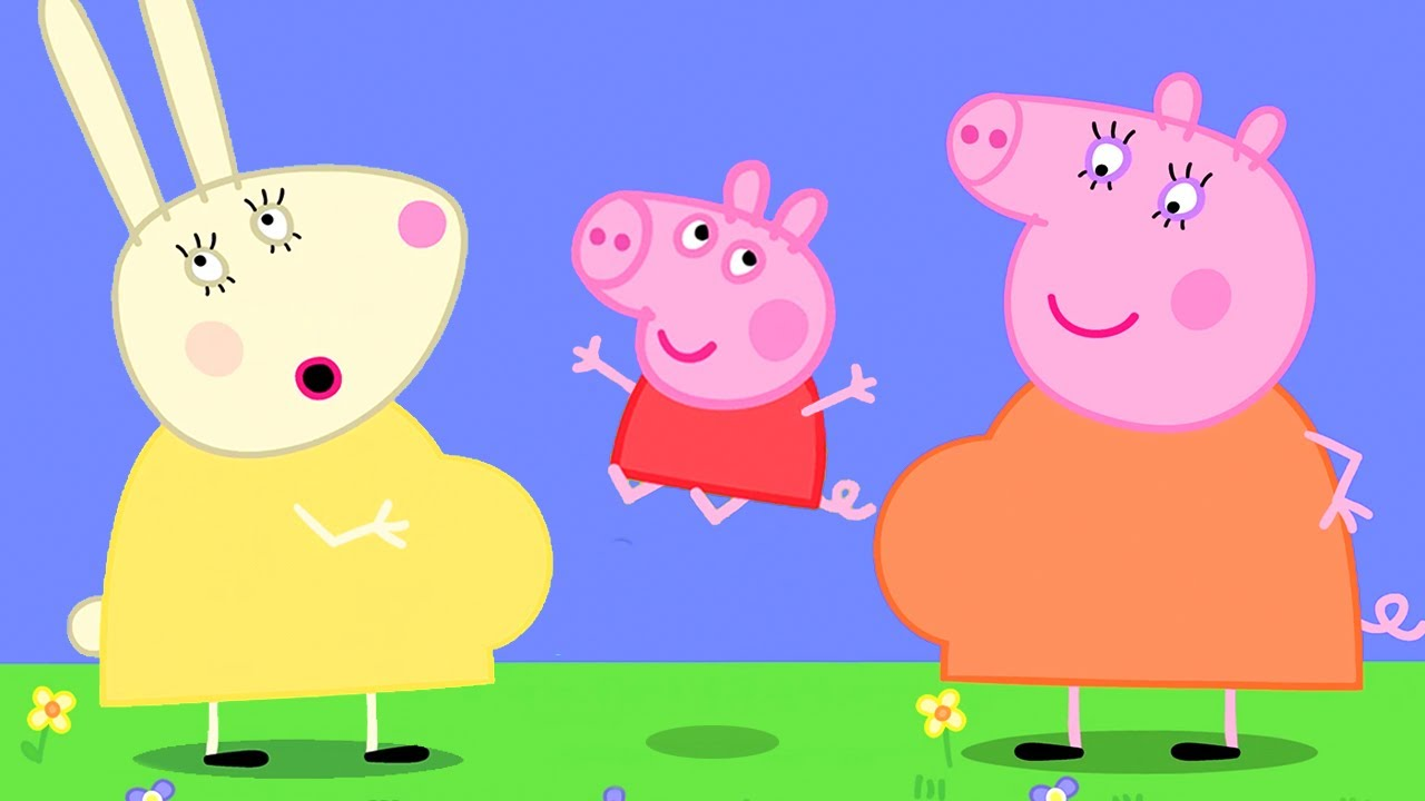 Peppa Pig Official Channel | Mummy Rabbit's Bump - New Babies!