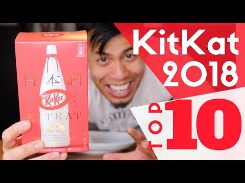 Top 10 Japanese KitKats 2018