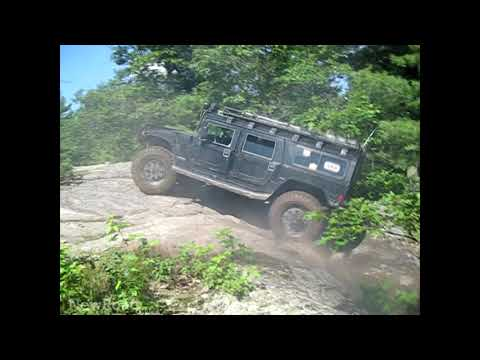Hummer H1 Off-Roading In North Ontario Canada