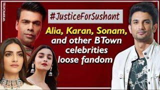 #JusticeForSushant   Fans unfollow, block, boycott Bollywood star kids responsible for Sushant death