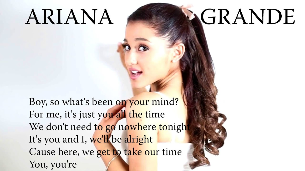 ADORE - Ariana Grande feat. Cashmere Cat {OFFICIAL LYRICS ...