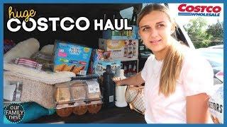 HUGE COSTCO SHOPPING HAUL! PUPPIES EATING ICE CREAM!!