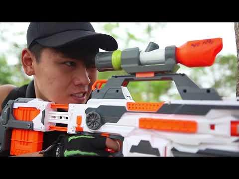 LTT Nerf War : SEAL Team Battle Crime 2