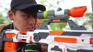 LTT Nerf War : SEAL Team Battle Crime 2