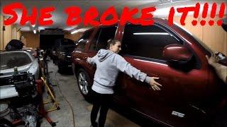 she broke the trailblazer ss