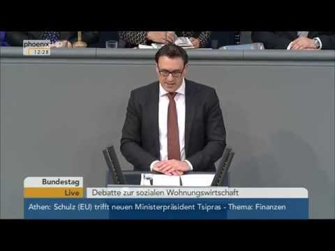 Bundestag: Soziale Wohnungswirtschaft Teil 1 am 29.01.2015