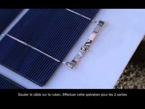 Célèbre Créer un Panneau Photovoltaïque : Comment faire soi même un  IH32