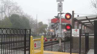 Railroad Crossing - Caltrain Station, Sunnyvale, CA
