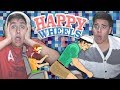 Game Time Gets Wrecked! | Happy Wheels