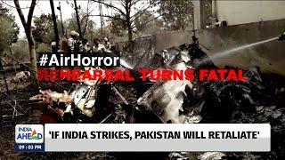 Air Horror - Reharsal turns Fatal | IndiaAhead at 9